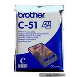 PAPEL TERMICO BROTHER 30...